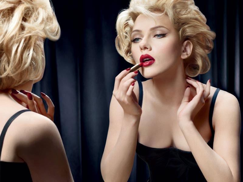 Scarlett Johansson as Marilyn Monroe