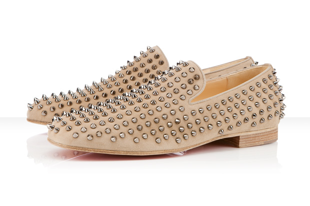 super popular 29a2c c98a4 Christian Louboutin men's spiked loafers | Nyachii's Blog