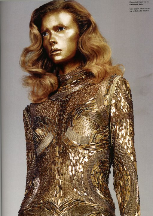 Photoshop Action: Dry Gold Body Paint Effect for Dramatic ...